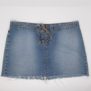 Tommy Hilfiger Jeans Lace Mini Skirt Juniors 11